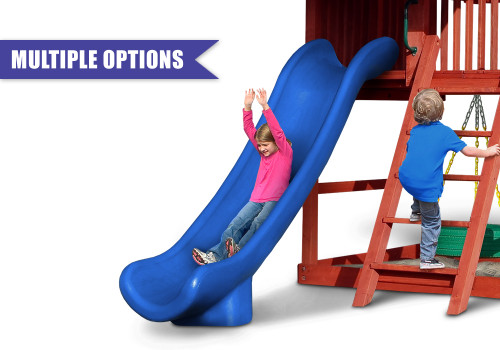Super Straight Slide (5', 6', 7' Deck Heights)
