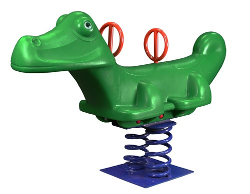 Great Gator Alligator Spring Rider Playground Accessory from SwingWorks