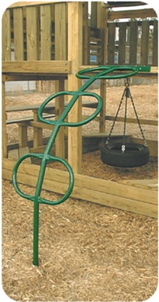 Horizontal Climber for swing sets from SwingWorks.