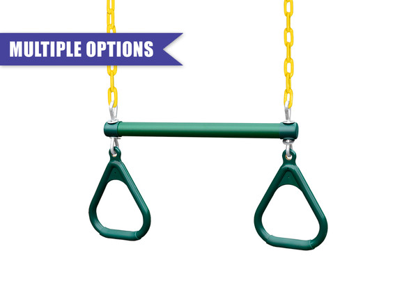 """17"""" Trapeze Bar with Chain & Handles"""