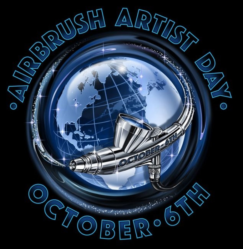 Giveaway for International Airbrush Artist Day