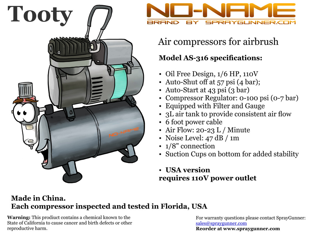 Quality Control process for NO-NAME compressors