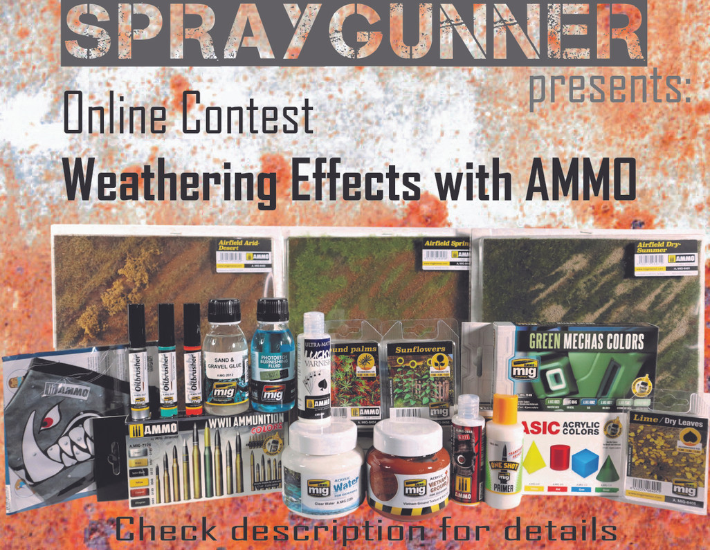Win a prize in our weathering contest!