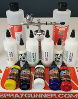 Airbrushing on leather? This is for you!