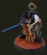 Black Templar Warhammer 40k painted with ChromaAir