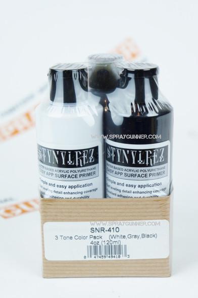 STYNYLREZ primer set 3 tone 120ml each SNR-410 Badger