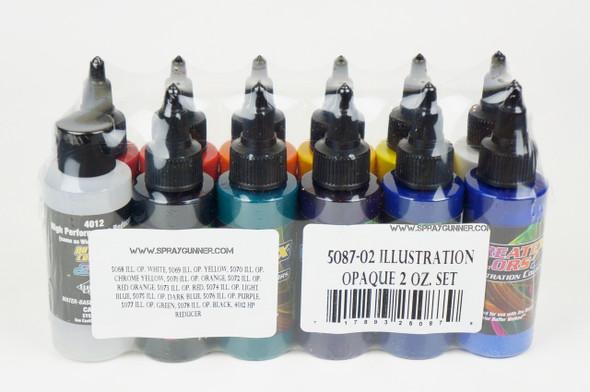 Createx Illustration Colors Opaque Master Set 2oz 5087-02 Createx