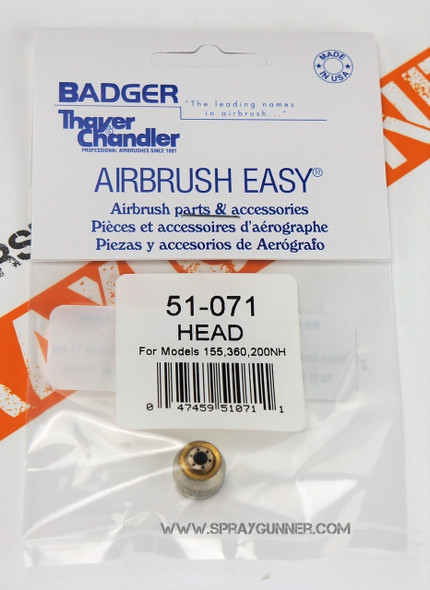 BADGER 51-071 Air Head Cap 51-071 Badger