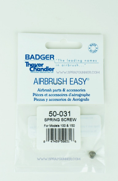 BADGER 50-031 needle spring screw 50-031 Badger