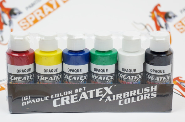 Opaque Createx Airbrush Colors Set 5803-00 Createx