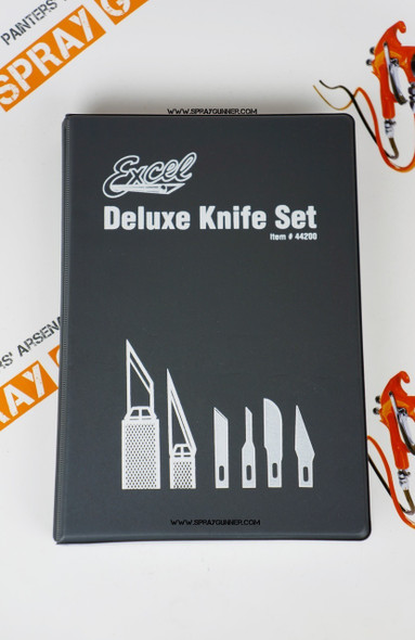 Excel Deluxe Knives and Bades set for hobby 44200 Excel Hobby Blades