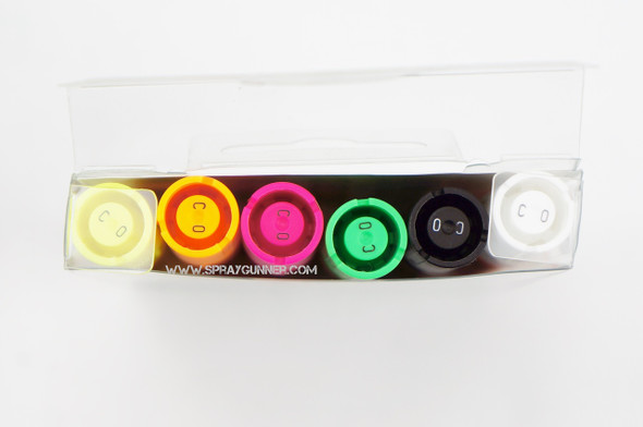 Molotow ONE4ALL 6 colors neon set 1.5mm
