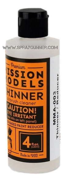Mission Models Paints Color MMA-003 Thinner / Airbrush Cleaner 4oz MMA-003 Mission Models Paints