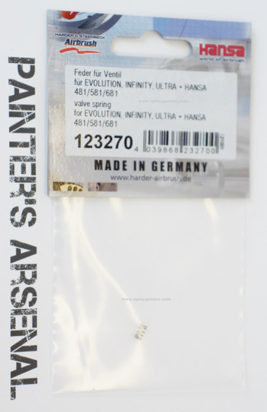 Valve spring for Evolution, Ultra, and Infinity 123270 Harder and Steenbeck