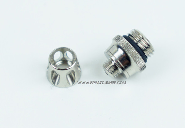 0.4mm Air Cap For Evolution, Grafo, and Colani Airbrushes 123773 Harder and Steenbeck