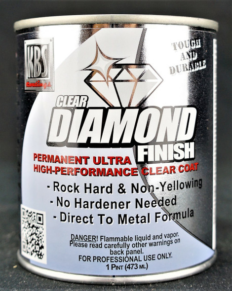KBS DiamondFinish Clear High Gloss 1 pint KBS-8304 KBS