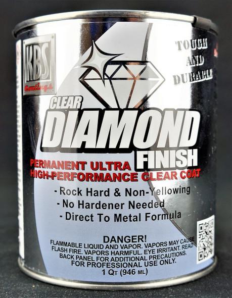 KBS DiamondFinish Clear High Gloss 1 quart KBS-8404 KBS