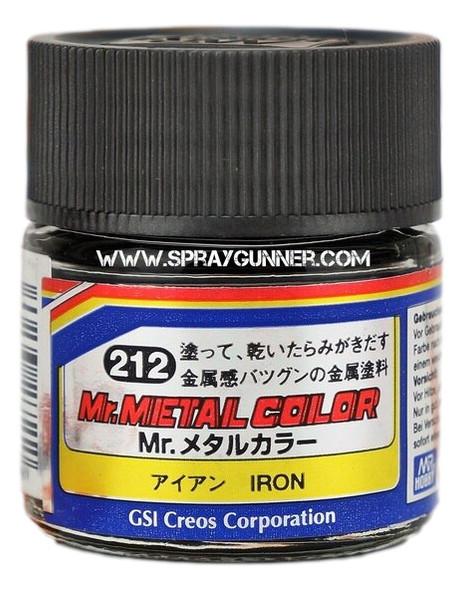 GSI Creos MrMetal Color Model Paint Iron MC212 GSI Creos Mr Hobby