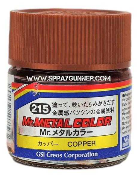 GSI Creos MrMetal Color Model Paint Copper MC215 GSI Creos Mr Hobby