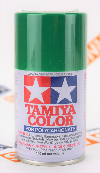 Tamiya Polycarbonate Aerosol Paint: Bright Green (PS-25)