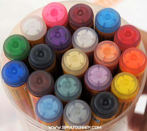 Molotow ONE4ALL 127HS 20 Color Main-Kit 1