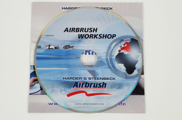 Harder and Steenbeck Airbrush Workshop technique DVD 93001 Harder and Steenbeck