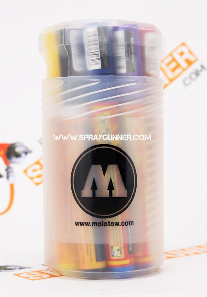 Molotow ONE4ALL Acrylic Pump Marker 227HS 12-Color Main-Kit 200.153 MOLOTOW