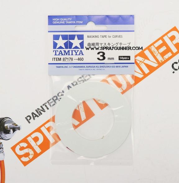 Tamiya Masking Tape for Curves 3mm 87178 Tamiya