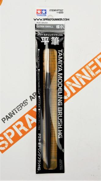 Tamiya Modeling HG Flat Brush Extra Small 87157 Tamiya
