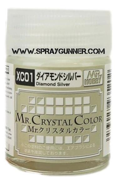 GSI Creos MrCrystal Color Diamond Silver XC01 XC01 GSI Creos Mr Hobby