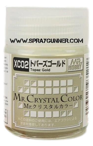 GSI Creos MrCrystal Color Topaz Gold XC02 XC02 GSI Creos Mr Hobby