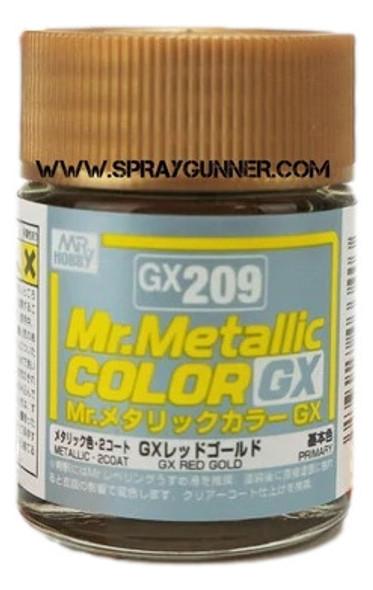 GSI Creos MrMetallic Color GX Red Gold GX-209 GX209 GSI Creos Mr Hobby