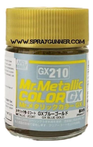 GSI Creos MrMetallic Color GX Blue Gold GX-210 GX210 GSI Creos Mr Hobby