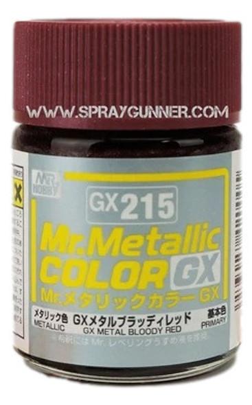 GSI Creos MrMetallic Color GX Metal Bloody Red GX-215 GX215 GSI Creos Mr Hobby