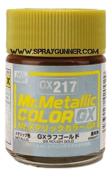 GSI Creos MrMetallic Color GX Rough Gold GX-217 GX217 GSI Creos Mr Hobby