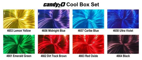 Createx Colors candy2o 2oz Box Set Cool by Createx 4967-E Createx