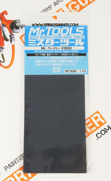 GSI Creos MrTools Waterproof Sand Paper #800 MT306 GSI Creos Mr Hobby