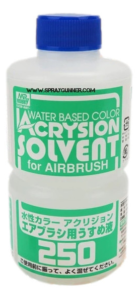 GSI Creos Acrysion Thinner for Airbrush 250ml T314 GSI Creos Mr Hobby