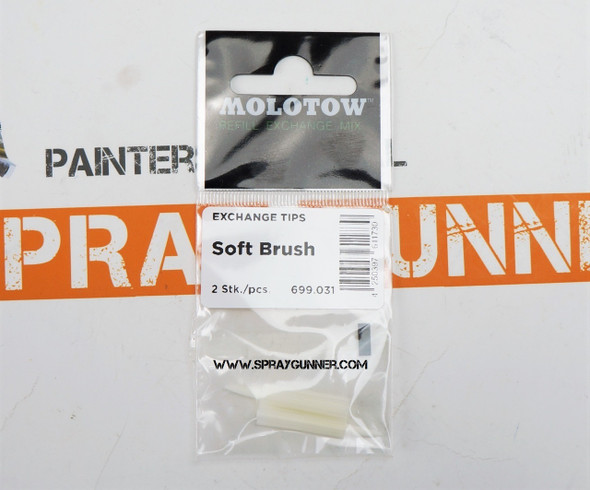 Molotow Exchange Tips 1mm Soft Brush Tip 699.031 MOLOTOW