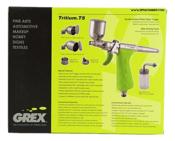 Grex TritiumTS3 pistol grip airbrush TS3Tritium Grex Airbrush