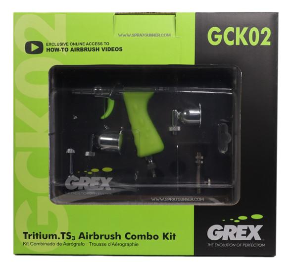 Grex TritiumTS3 Airbrush Combo Kit GCK02 Grex Airbrush