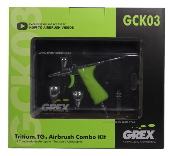 Grex TritiumTG3 Airbrush Combo Kit GCK03 Grex Airbrush