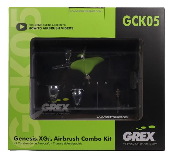Grex GenesisXGi.3 Airbrush Combo Kit GCK05 Grex Airbrush