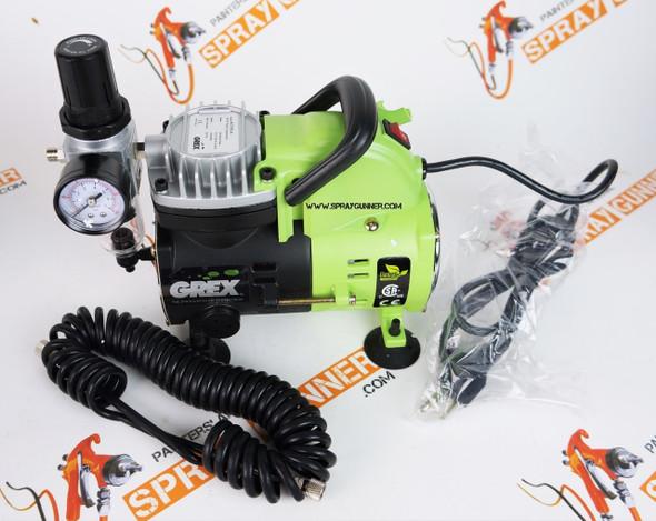 Grex 1/8 HP Portable Piston Air Compressor AC1810-A Grex Airbrush