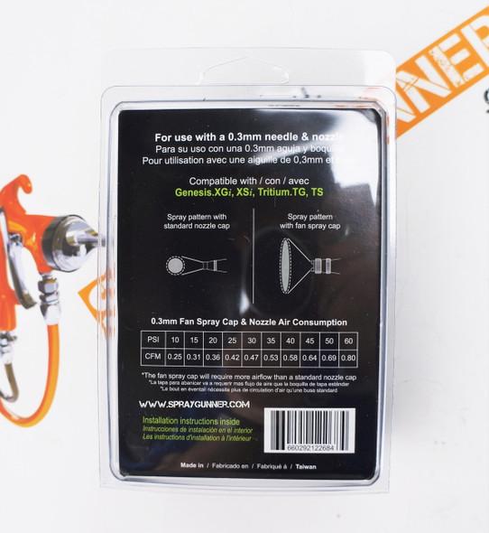 Grex 0.3mm Fan Spray Cap TF-3 Grex Airbrush