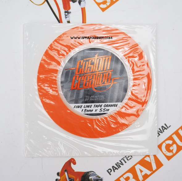 Custom Creative Fine Line Orange Tape Custom Creative