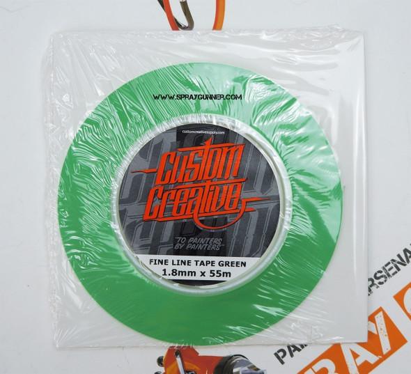 Custom Creative Fine Line Green Tape Custom Creative
