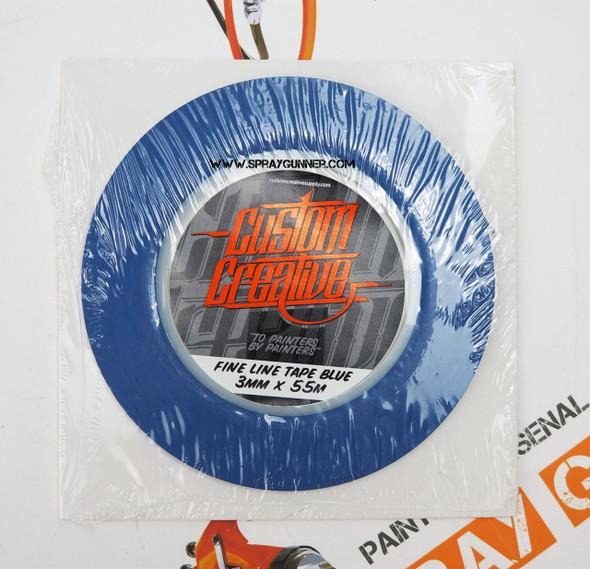Custom Creative Fine Line Blue Tape Custom Creative