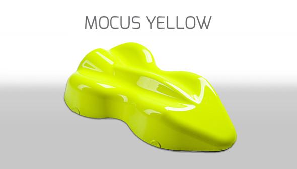 Custom Creative Water-Based Paint Fluorescent Mocus Yellow FLW-MY-60 Custom Creative