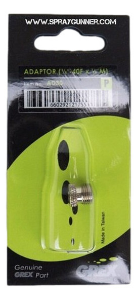 Paasche Airbrush to 1/8 Male Grex Adapter AD30 Grex Airbrush